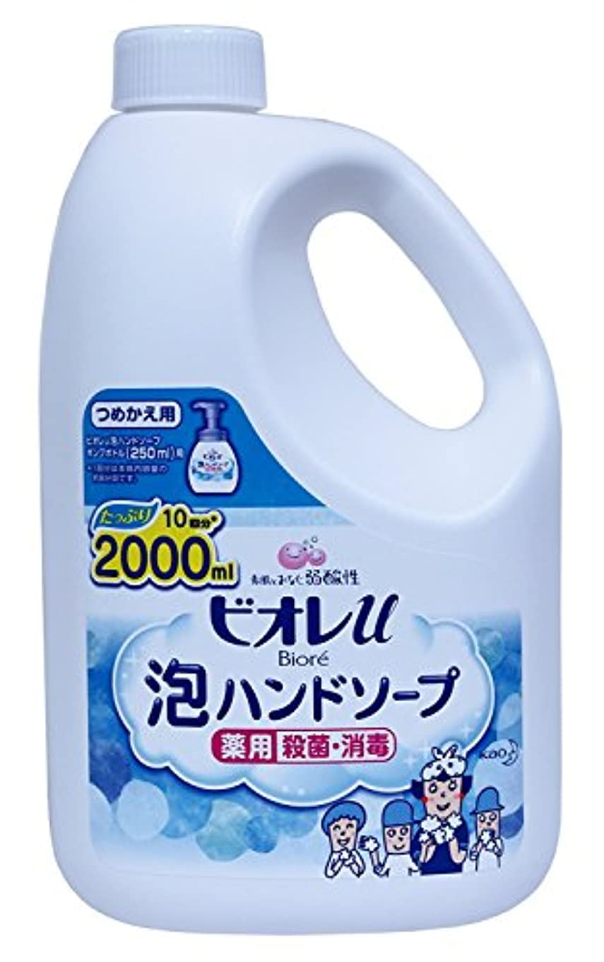 有用エラー取得する花王 ビオレu 泡で出てくるハンドソープ つめかえ用 2L