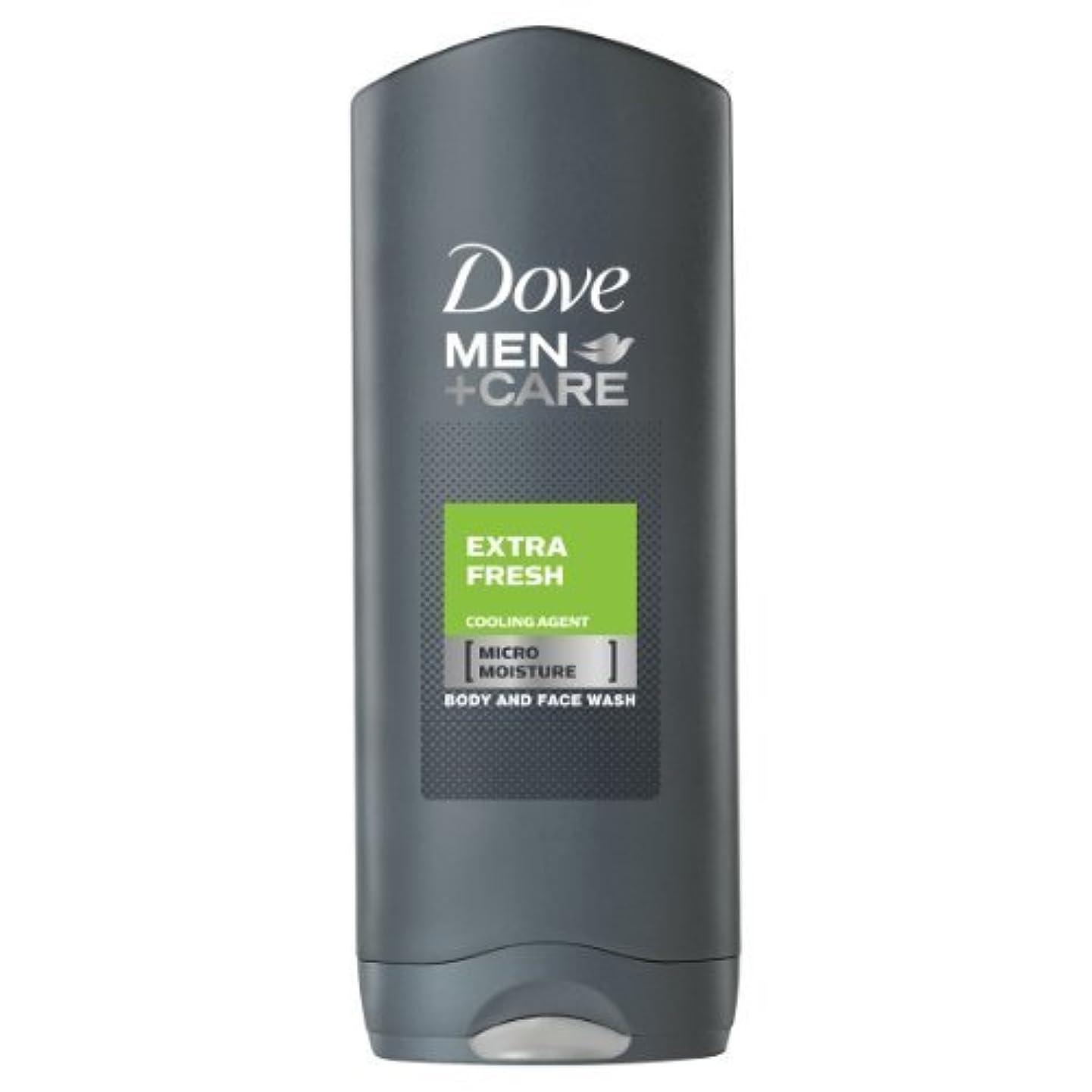 海峡ひも良性バイオリニストDove for Men Extra Fresh Body and Face Wash 250 ml by Dove [並行輸入品]