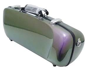 C.C.シャイニーケース スパークリングシリーズ エアロ トランペット スパークリングバイオレット (バイオレット&グリーン)