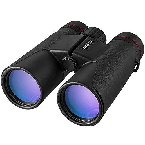 APERLITE 双眼鏡 ダハプリズム 10倍 10x42 BAK-4 望遠鏡 高解像度 大型 42口径 スポーツ観戦 コンサート アウトドア 旅行 バードウォッチングに最適 QW-03