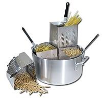 Winware 20 Qt Aluminum Pasta Cooker, Commercial Grade by Winware