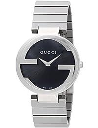 [グッチ]GUCCI 腕時計 INTERLOCKING ブラック文字盤 YA133307 レディース 【並行輸入品】