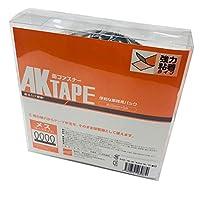 AKテープ粘着付メス 黒 AK-08 25MMX5M アラコー