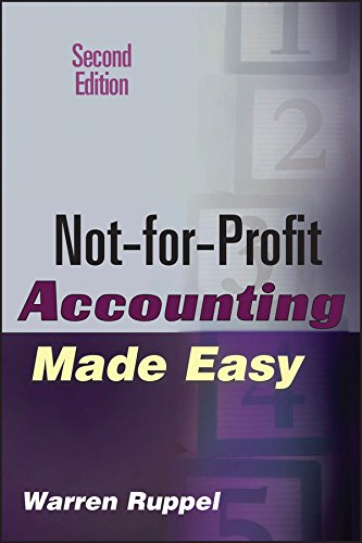 Download Not-for-Profit Accounting Made Easy 0471789798