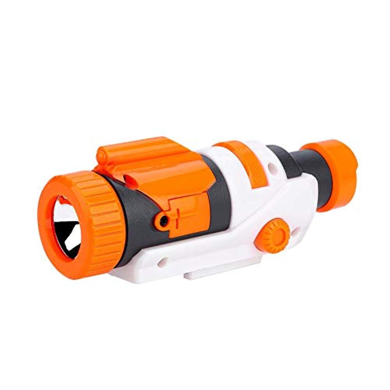 ナーフスコープ 戦術軽い懐中電灯 ナーフ エリート 電動 サージファイヤー レチクルの付属品 プラスチック N-ストライクエリート おもちゃ