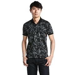 Fred Perry Jacquard Polo Shirt F1342: Black