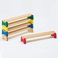 平均台 高さ10cm 子供のバランス運動に ミニサイズ 5本組 カラー平均台 室内用