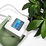 DIY Micro Automatic Drip Irrigation Kit,Houseplants Self Watering System with 30-Day Digital Programmable Water Timer 5V USB Power Operation for Indoor Potted Plants Vacation Plant Watering [Gen 4]