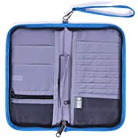 GADIEMENSS RFID Passport Case Credit Card Bag for Documents Suitable for ID Card Guide Book Cash