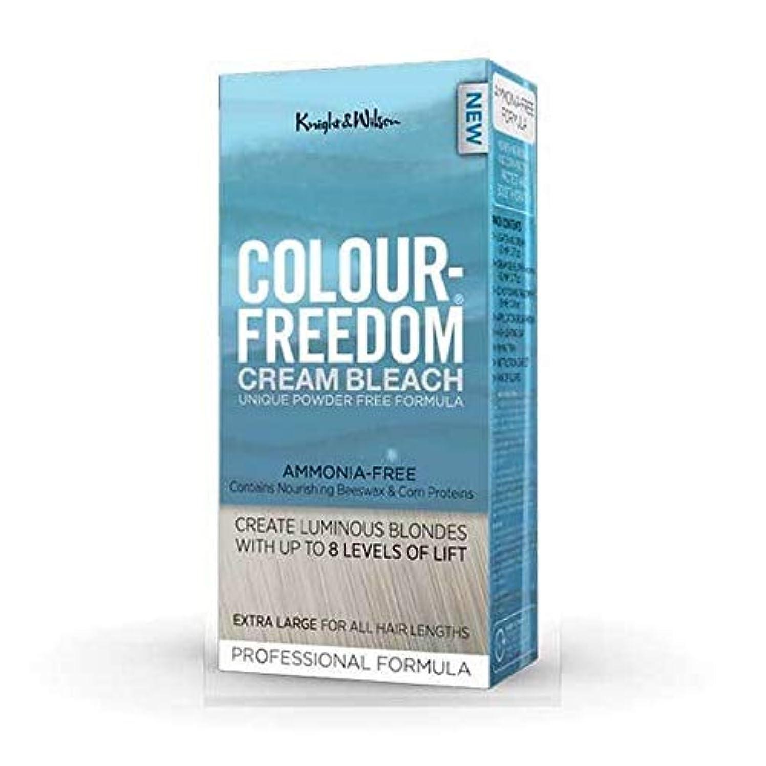 打撃佐賀ハリウッド[Colour Freedom ] 色自由クリーム漂白剤80グラム - Colour Freedom Cream Bleach 80g [並行輸入品]