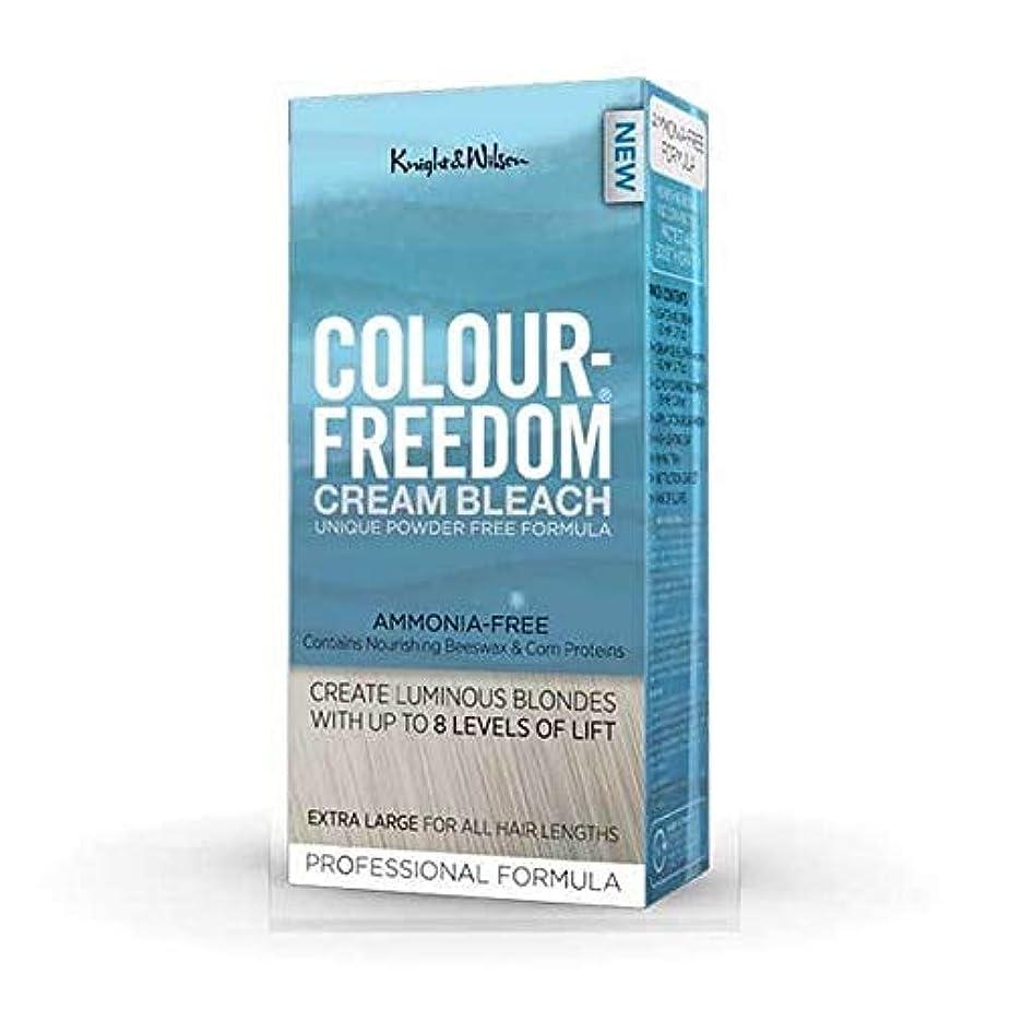 行進ヘビー時系列[Colour Freedom ] 色自由クリーム漂白剤80グラム - Colour Freedom Cream Bleach 80g [並行輸入品]