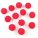 ピエロの赤鼻  12個入 直径5cm 可愛いピエロのコスプレ用 レッド