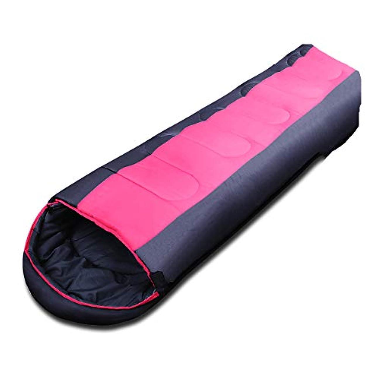 事務所カウボーイパーク大人の寝袋屋外のプロの寝袋ドライクール防水キャンプハイキングハイキングタイトな暖かい寝袋