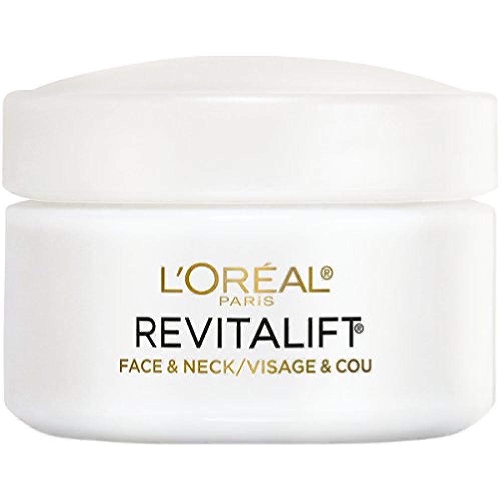 悲しいことにようこそローマ人L'Oreal Paris Advanced RevitaLift Face and Neck Day Cream, 1.7 Ounce (並行輸入品)
