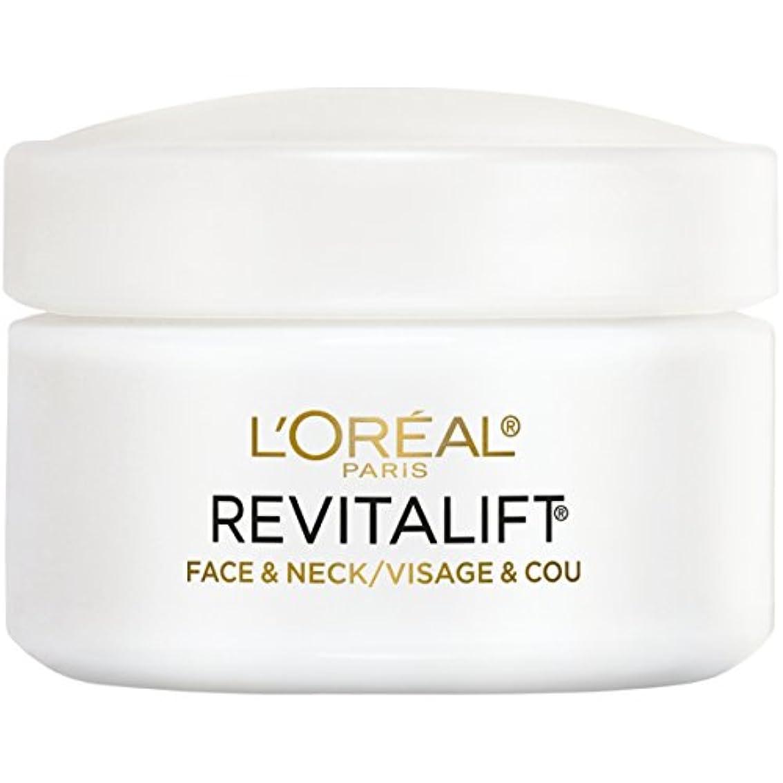 同僚しおれた歯科のL'Oreal Paris Advanced RevitaLift Face and Neck Day Cream, 1.7 Ounce (並行輸入品)