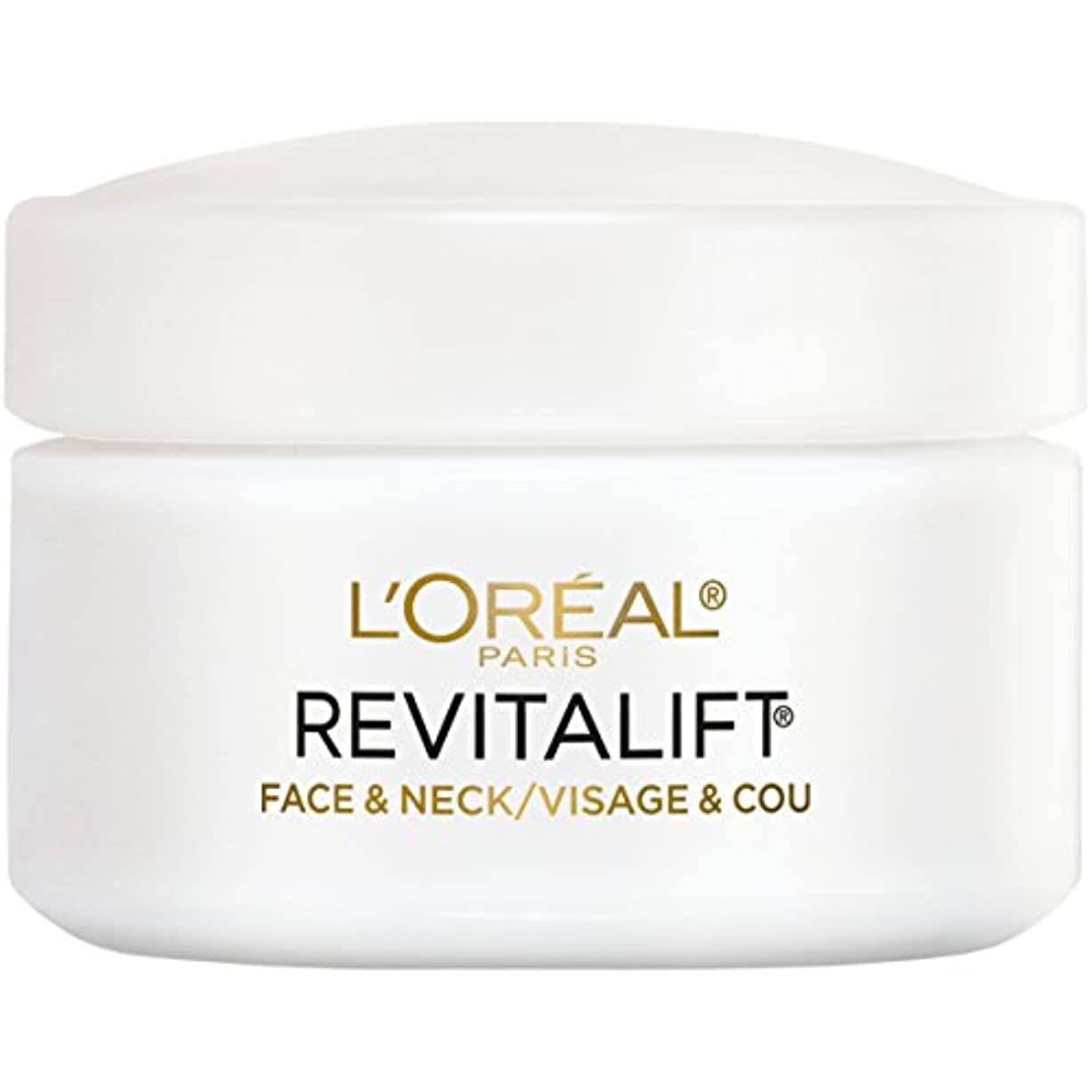 伸ばすピンチローズL'Oreal Paris Advanced RevitaLift Face and Neck Day Cream, 1.7 Ounce (並行輸入品)