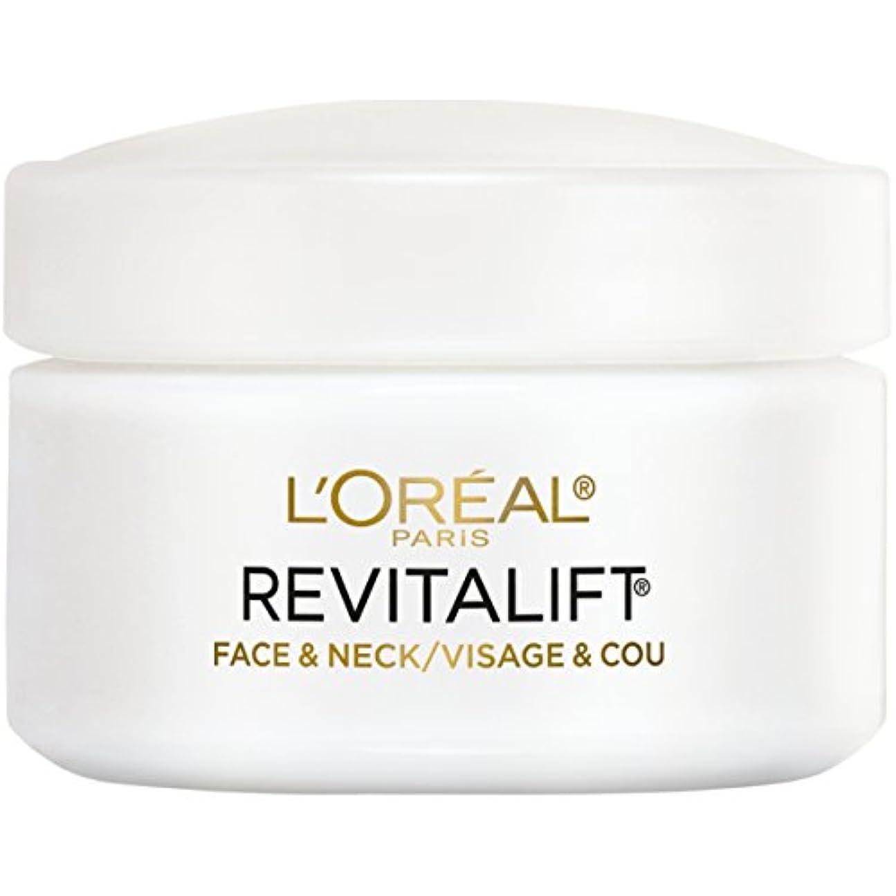 資金気性選択L'Oreal Paris Advanced RevitaLift Face and Neck Day Cream, 1.7 Ounce (並行輸入品)