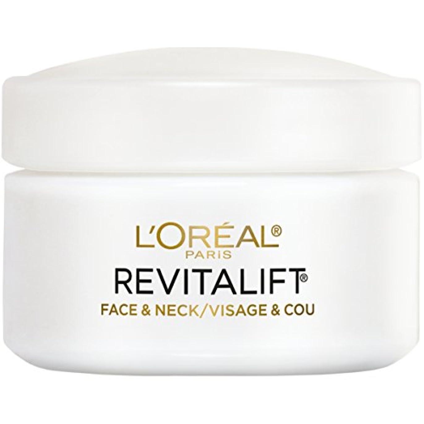 ウガンダ艶ループL'Oreal Paris Advanced RevitaLift Face and Neck Day Cream, 1.7 Ounce (並行輸入品)