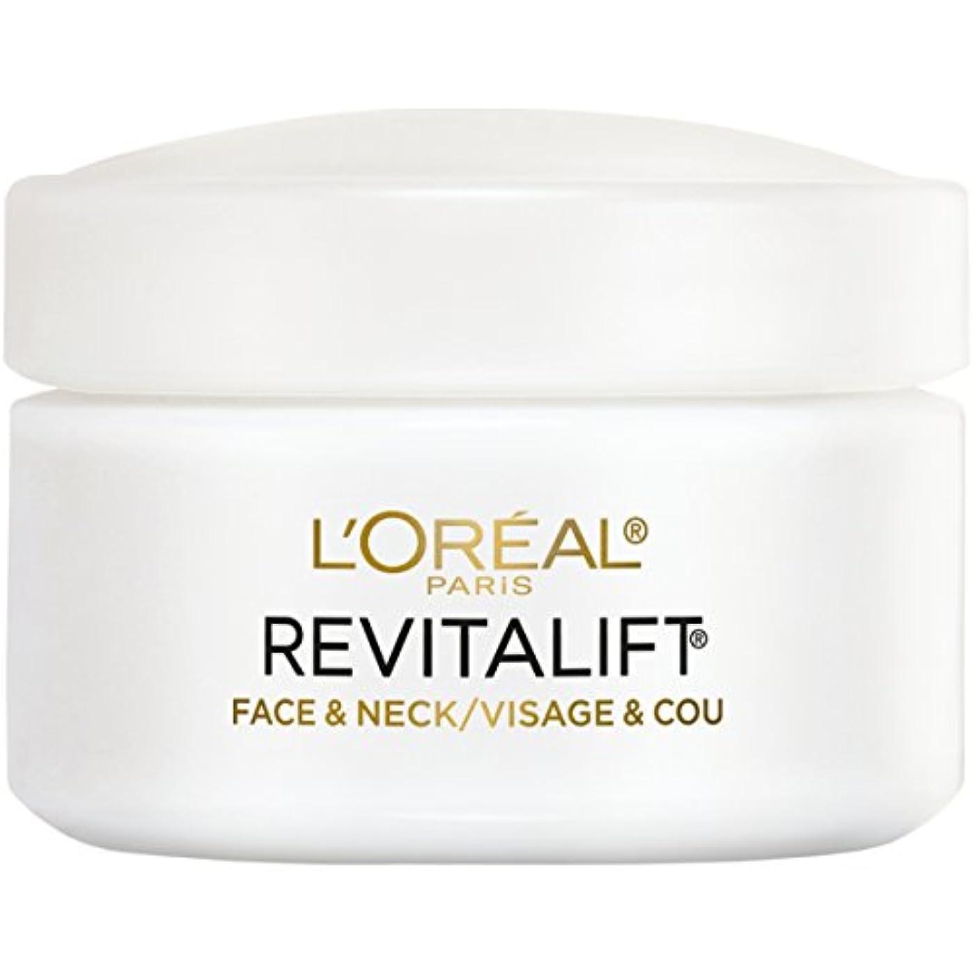 パッケージ契約受取人L'Oreal Paris Advanced RevitaLift Face and Neck Day Cream, 1.7 Ounce (並行輸入品)