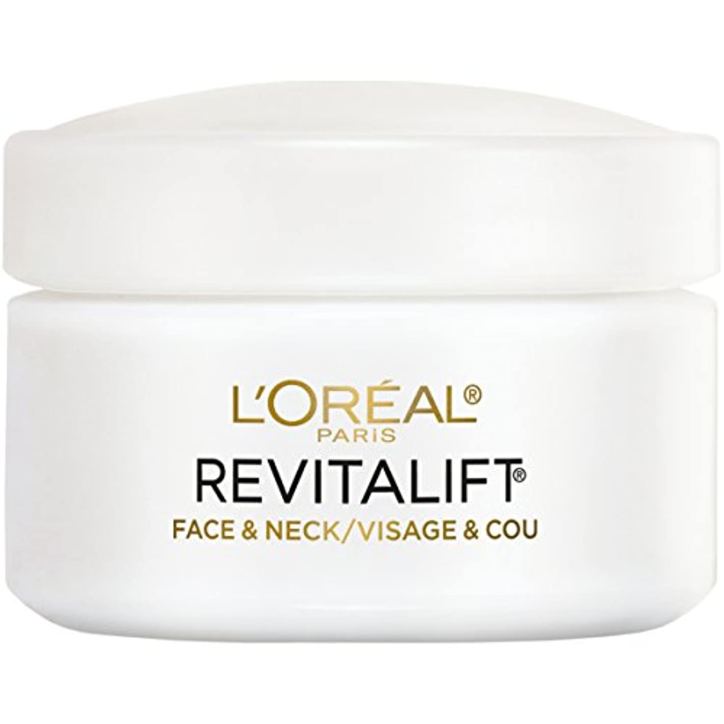 新鮮な即席チャートL'Oreal Paris Advanced RevitaLift Face and Neck Day Cream, 1.7 Ounce (並行輸入品)