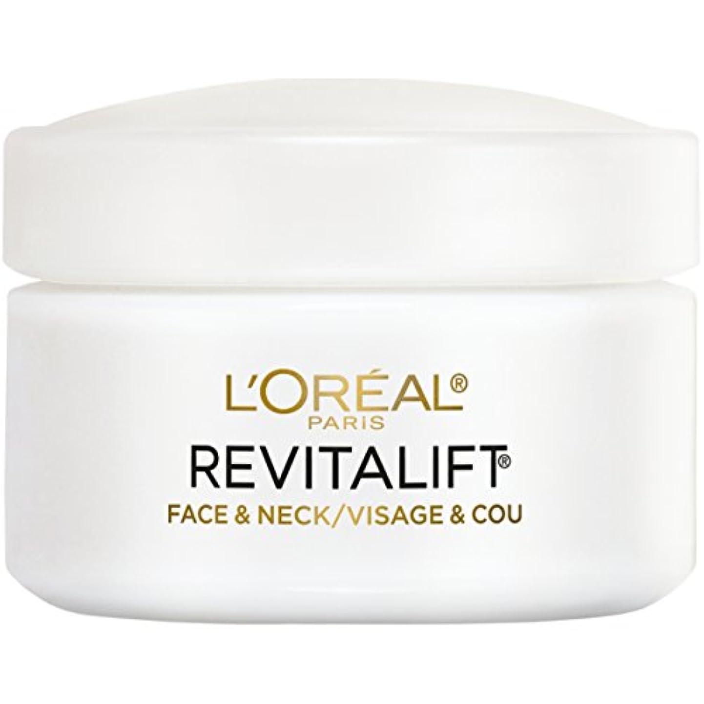 市の中心部国勢調査プレーヤーL'Oreal Paris Advanced RevitaLift Face and Neck Day Cream, 1.7 Ounce (並行輸入品)