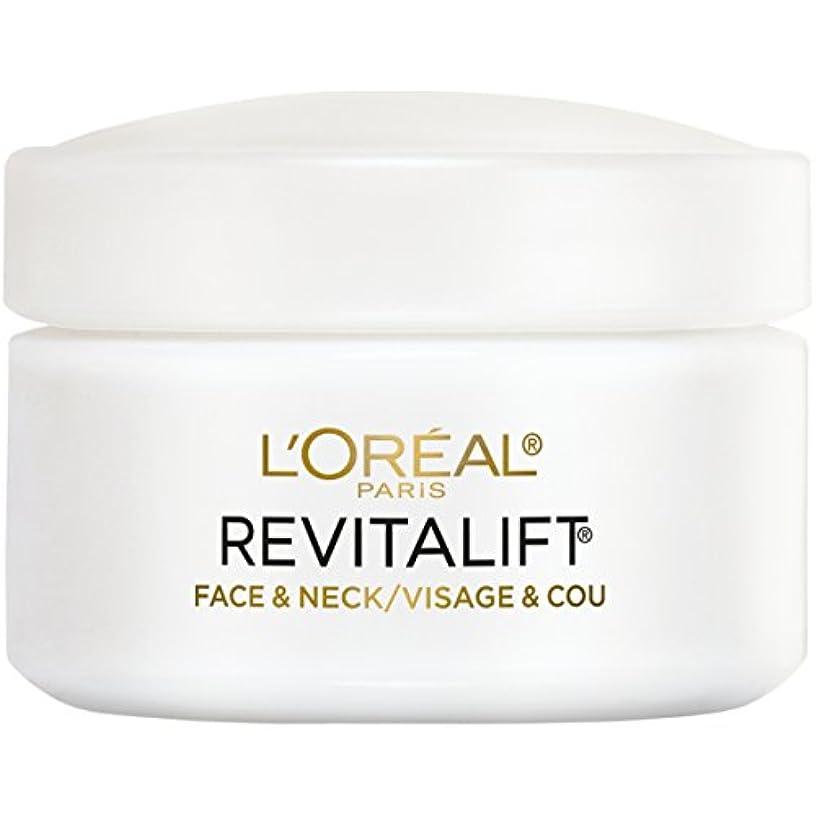 ジャンクション持っている辛なL'Oreal Paris Advanced RevitaLift Face and Neck Day Cream, 1.7 Ounce (並行輸入品)