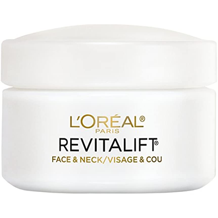 美徳見て略すL'Oreal Paris Advanced RevitaLift Face and Neck Day Cream, 1.7 Ounce (並行輸入品)