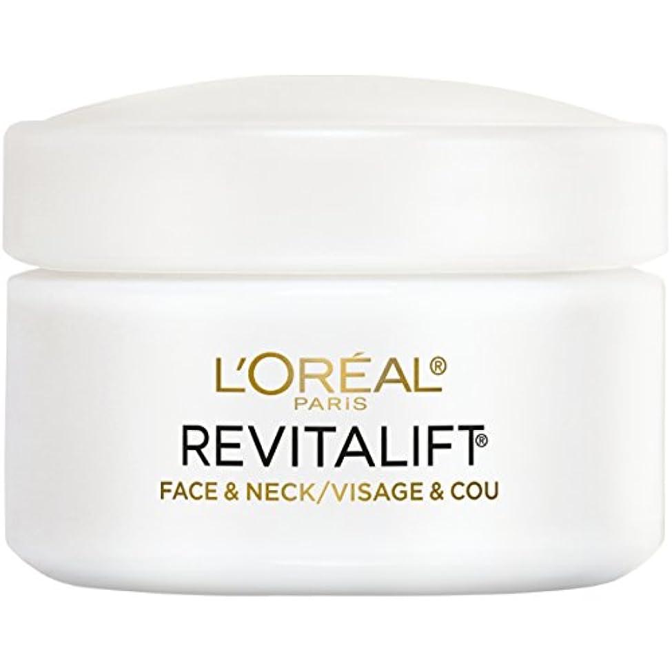 消去まっすぐファッションL'Oreal Paris Advanced RevitaLift Face and Neck Day Cream, 1.7 Ounce (並行輸入品)
