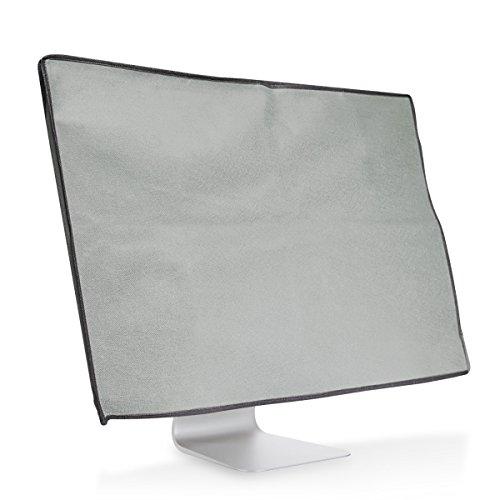 "kwmobile スクリーン 保護カバーApple iMac 21.5""用 - 防塵 PC モニター カバー ライトグレー"