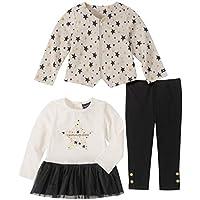 CALVIN KLEIN Baby Girls 3 Pieces Jacket Pants Set