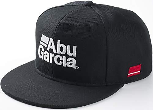 ABU フラットビルキャップ BLACK