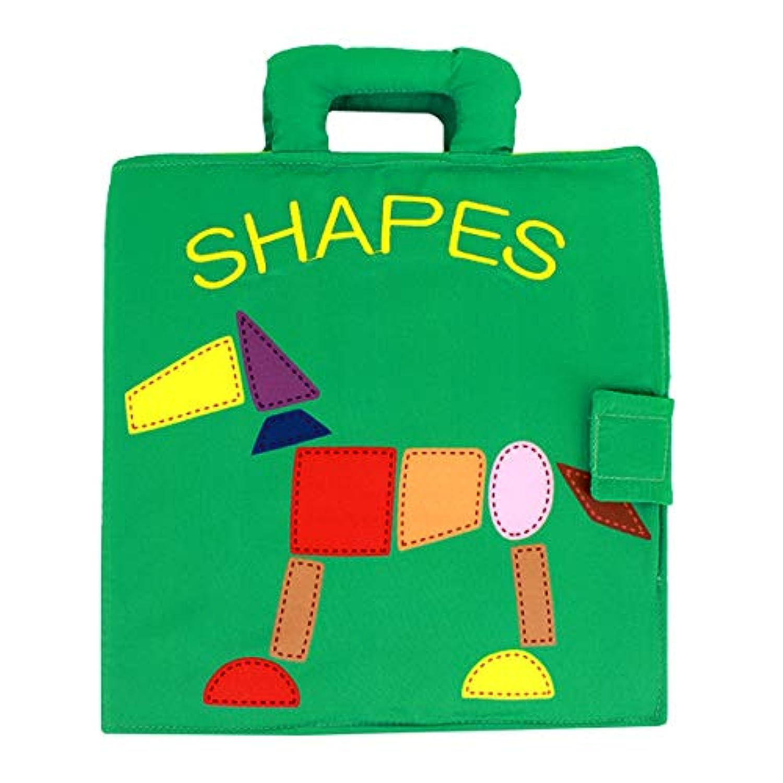 Aisa 幼児用パズル 布製本型カラーマッチング早期教育玩具