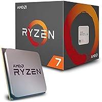 AMD CPU Ryzen 7 2700X with Wraith Prism cooler YD2…