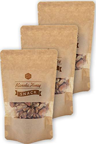 ハニーマザー マヌカキャラメルナッツ 【100g】×3個 マヌカハニー使用・砂糖不使用・グルテンフリー・無添加のおやつ・ローフード