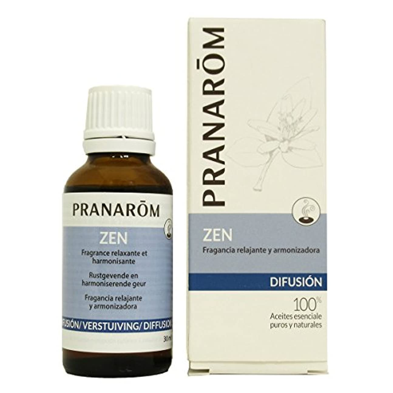 混合した二次にプラナロム ZEN 30ml (PRANAROM ルームコロン)