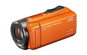 JVC KENWOOD JVC ビデオカメラ EVERIO 防水 防塵 内蔵メモリー32GB オレンジ GZ-R300-D