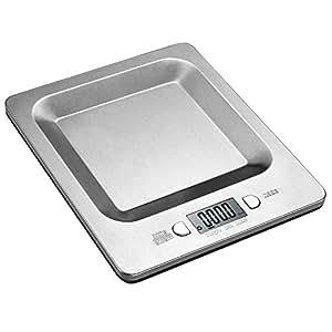 Digstar デジタルクッキングスケール クッキング電子はかり 1gから5kgまで 高精密 キッチンスケール ステンレス製 小型 フルーツ/ミルクなどの計量用
