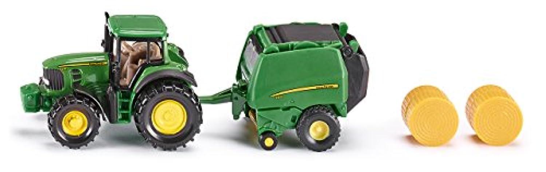 ジク (SIKU) John Deere Tractor with Baler SK1665