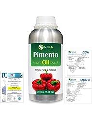 Pimento (Pimenta dioica) 100% Natural Pure Essential Oil 2000ml/67 fl.oz.