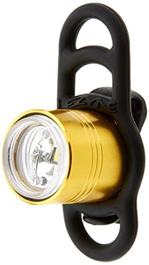 加速度情報楕円形Lezyne - Femto Drive フロント LED ライト ゴールド