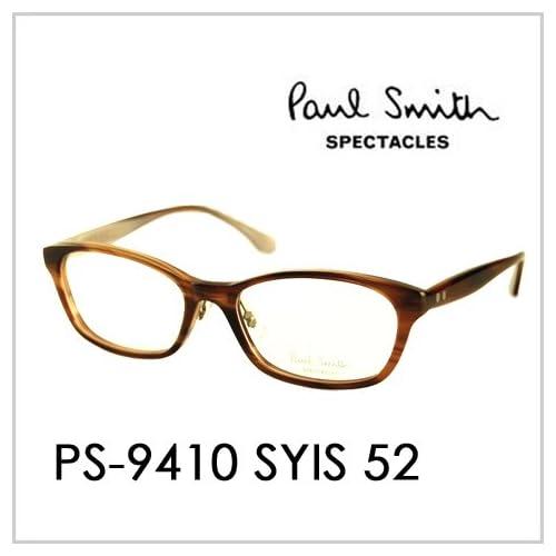 PAUL SMITH ポールスミス  メガネフレーム サングラス 伊達メガネ 眼鏡 PS-9410 SYIS 52 PAUL SMITH専用ケース付 スペクタクルズ