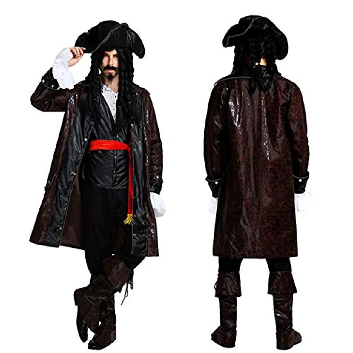 スタジオふさわしい器官monoii 海賊 コスプレ メンズ ハロウィン コスチューム パイレーツ 衣装 仮装 男 c529