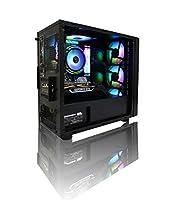 【Astromeda Micro】ゲーミングデスクトップパソコン【Ryzen5-2600/GTX1050Ti/RGBメモリ16GB/SSD 240GB...