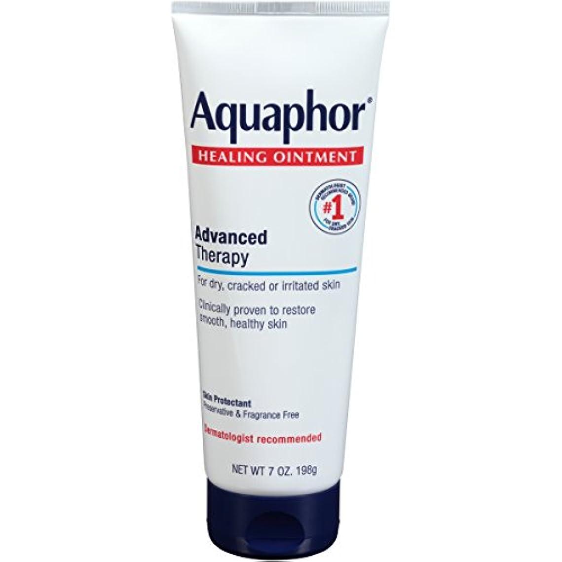 船チャレンジ重くするAquaphor Advanced Therapy Healing OintmentスキンProtectant 7オンスチューブ