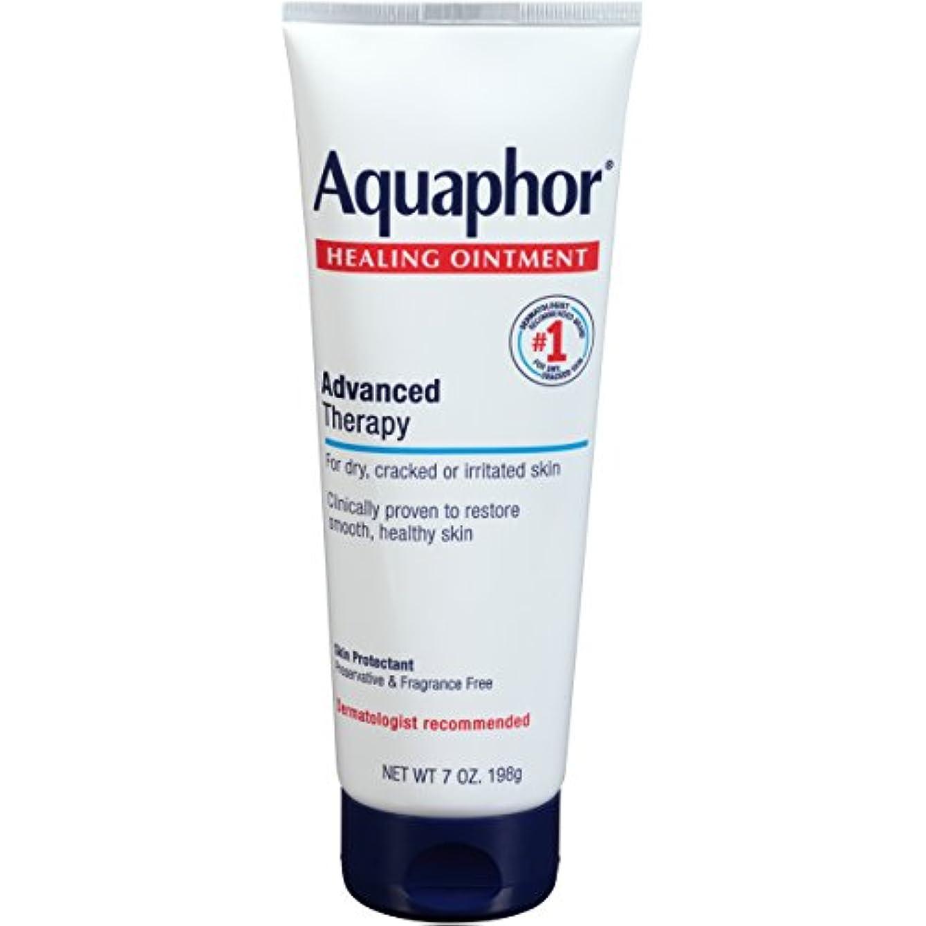 先のことを考える他の場所符号Aquaphor Advanced Therapy Healing OintmentスキンProtectant 7オンスチューブ