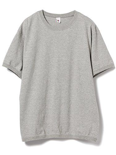 (ビームス) BEAMS/FRUIT OF THE LOOM × BEAMS/別注 Crew Neck T-shirt 11040496146 SMALL グレー