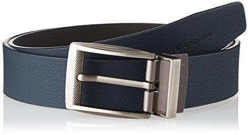 (ジョルダーノ) GIORDANO(ジョルダーノ) カラーピンバックルベルト G17SS-01134024 011 ブルー L