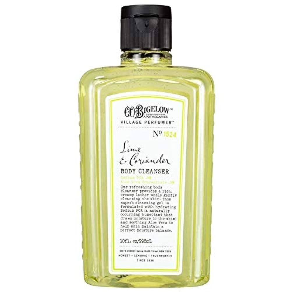 羽甘くする薬局[C.O. Bigelow] C.O.ビゲローライムとコリアンダーボディクレンザー - C.O. Bigelow Lime and Coriander Body Cleanser [並行輸入品]
