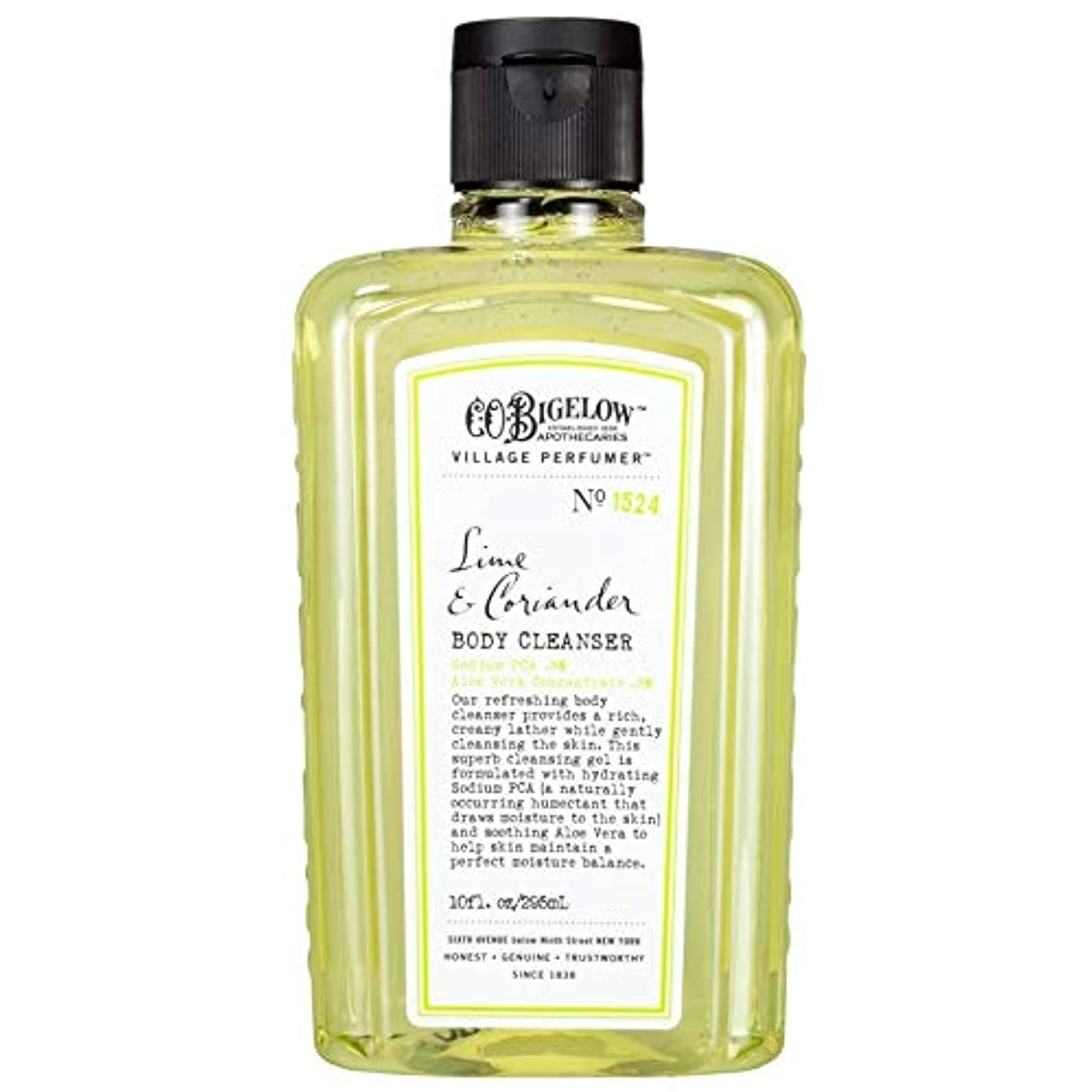 ケーブル恥ずかしさオーバーラン[C.O. Bigelow] C.O.ビゲローライムとコリアンダーボディクレンザー - C.O. Bigelow Lime and Coriander Body Cleanser [並行輸入品]