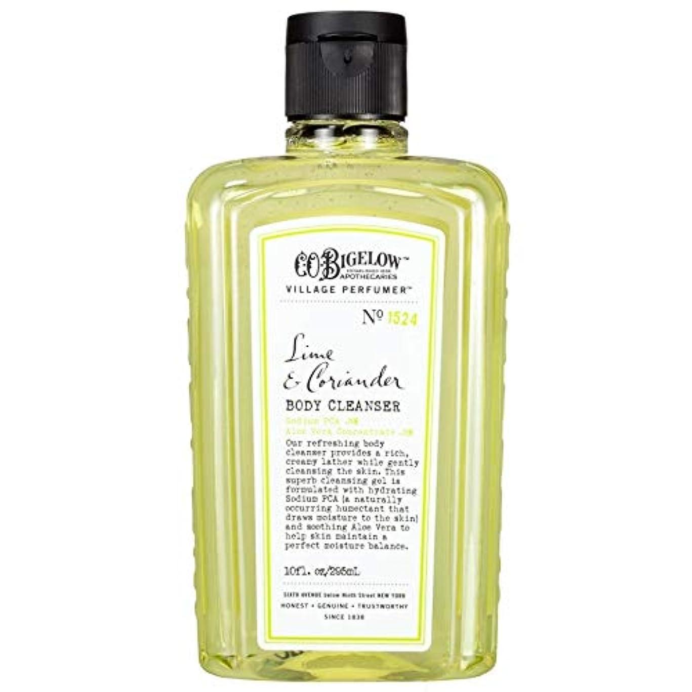 良心的くるくるデッドロック[C.O. Bigelow] C.O.ビゲローライムとコリアンダーボディクレンザー - C.O. Bigelow Lime and Coriander Body Cleanser [並行輸入品]
